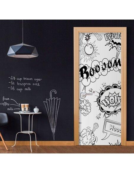 Papier-peint pour porte Comic Style  Papier-peints pour porte Artgeist