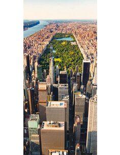 Papier-peint pour porte Central Park  Papier-peints pour porte Artgeist