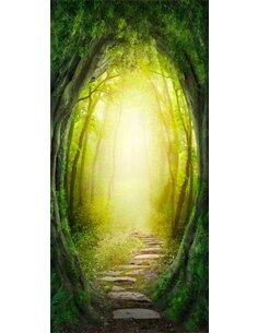 Papier-peint pour porte The Forest of Fantasy  Papier-peints pour porte Artgeist
