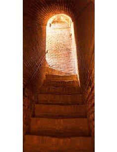 Papier-peint pour porte Secret Stairs  Papier-peints pour porte Artgeist