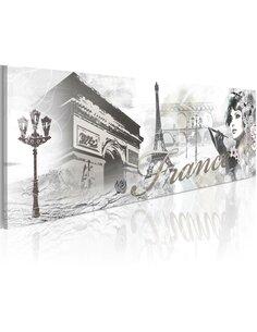 Tableau Panoramique - Élégance parisienne - par Artgeist