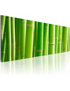 Tableau Panoramique - Canvas print – In a bamboo bush Zen Artgeist