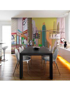 Papier peint L'HEURE DE POINTE À NEW YORK - par Artgeist