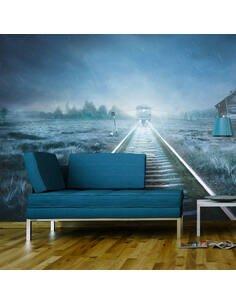 Papier peint LE TRAIN FANTÔME - par Artgeist