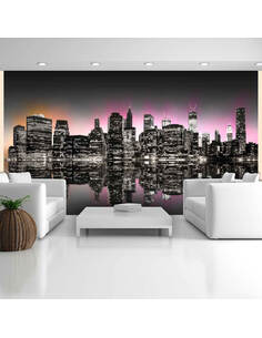 Papier peint LA VILLE QUI NE DORT JAMAIS NEW YORK - par Artgeist