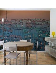 Papier peint BONSOIR PARIS ! - par Artgeist