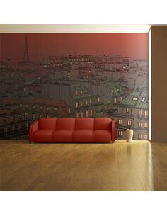 Papier peint UN SOIR INSOLITE À PARIS - par Artgeist