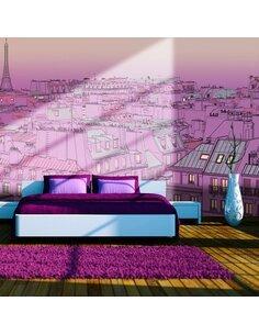 Papier peint VENDREDI SOIR À PARIS - par Artgeist