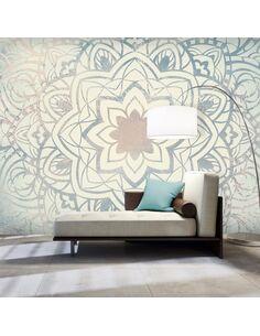 Papier peint grand format WINTER MANDALA - par Artgeist