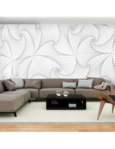 Papier peint grand format AVANTGARDE FAN - par Artgeist