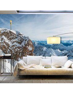Papier peint grand format WINTER IN ZUGSPITZE - par Artgeist