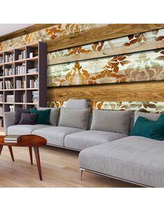Papier peint grand format WOODEN ELEGANCE - par Artgeist