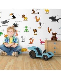 Papier peint grand format ANIMAUX POUR ENFANTS - par Artgeist