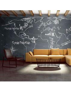 Papier peint grand format PETIT VOYAGE. GRAND VOYAGE SUÉDOIS - par Artgeist