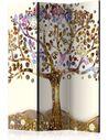 Paravent 3 volets GOLDEN TREE - par Artgeist