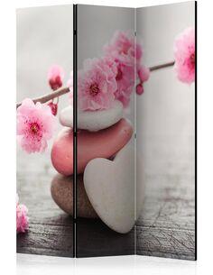 Paravent 3 volets ZEN FLOWERS - par Artgeist