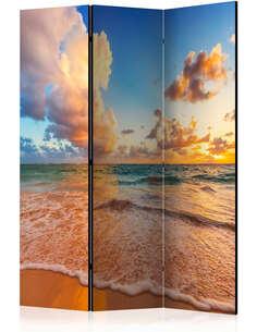 Paravent 3 volets MORNING BY THE SEA - par Artgeist