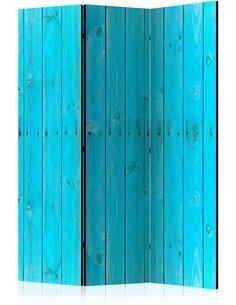Paravent 3 volets THE BLUE BOARDS - par Artgeist