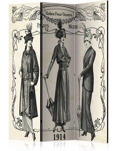 Paravent 3 volets Dress 1914  Paravents 3 volets Artgeist
