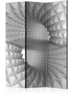 Paravent 3 volets STRUCTURAL TUNNEL - par Artgeist
