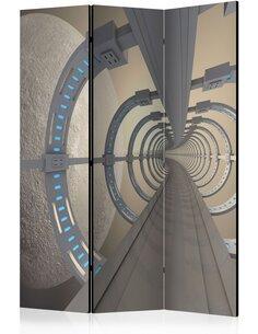 Paravent 3 volets COSMIC TUNNEL - par Artgeist