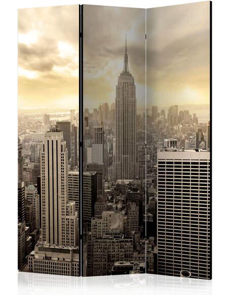Paravent 3 volets LIGHT OF NEW YORK - par Artgeist