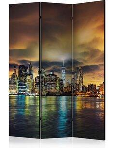 Paravent 3 volets New York Sky  Paravents 3 volets Artgeist
