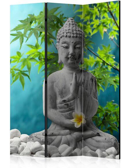 Paravent 3 volets MEDITATING BUDDHA - par Artgeist