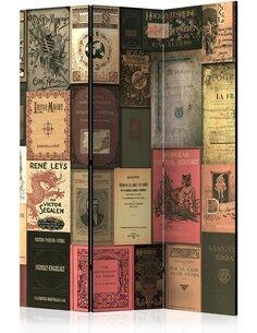 Paravent 3 volets BOOKS OF PARADISE - par Artgeist