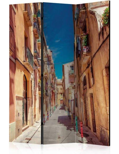 Paravent 3 volets SUMMER STREET - par Artgeist
