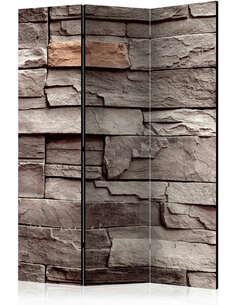Paravent 3 volets WALL OF SILENCE - par Artgeist