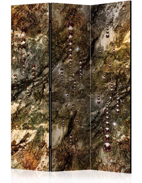 Paravent 3 volets MARBLE TREASURES - par Artgeist