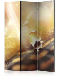 Paravent 3 volets MAGIC FEATHER [ROOM DIVIDER] - par Artgeist