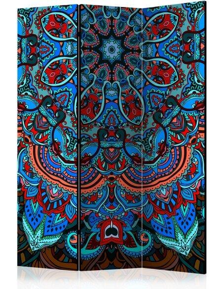 Paravent 3 volets BLUE FANTASY - par Artgeist
