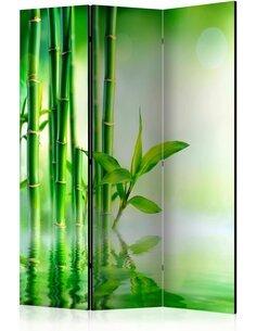 Paravent 3 volets GREEN BAMBOO - par Artgeist