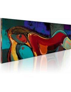 Tableau peint à la main SIESTE - par Artgeist