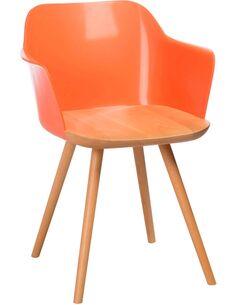 Chaise retro orange BENDIGO - par J-Line