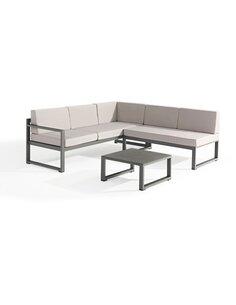 Salon de jardin RELAX aluminium  - par Delorm