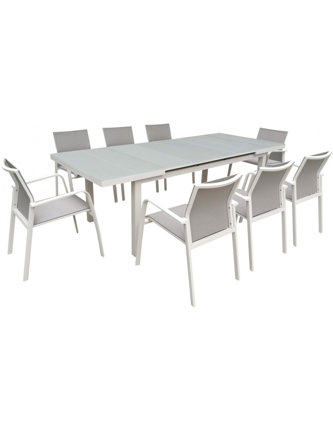Table de jardin extensible NICE aluminium | Delorm |