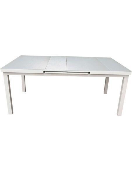 Table de jardin extensible NICE aluminium de Delorm