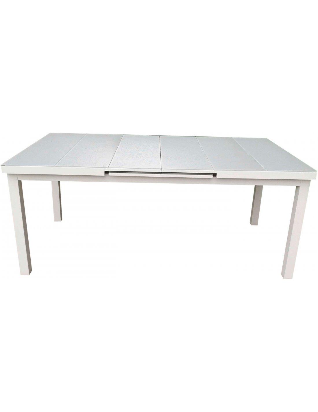 Jardin Extensible Nice AluminiumDelorm Table De XZ0ON8nPwk