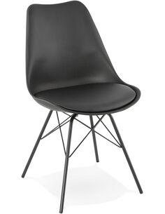 Chaise design Polymère Noir FABRIK Chaises de cuisine et salle à manger Kokoon Design