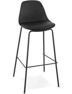 Tabouret de bar design Polymère Noir ESCAL Chaises de bar Kokoon Design