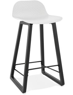 Tabouret de bar design Polymère Blanc MIKY MINI Chaises de bar Kokoon Design