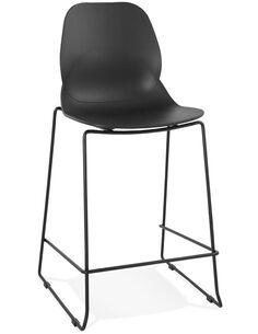 Tabouret de bar design Polymère Noir ZIGGY MINI Chaises de bar Kokoon Design