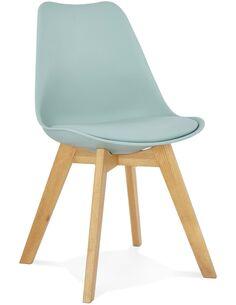 Chaise design Polymère Bleu TYLIK Chaises de cuisine et salle à manger Kokoon Design