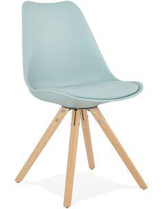 Chaise design Polymère Bleu TOLIK Chaises de cuisine et salle à manger Kokoon Design