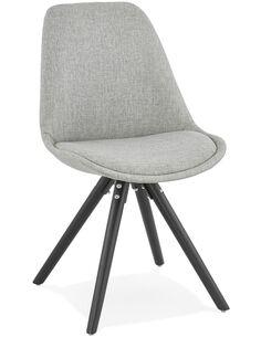 Chaise design Textile Gris BRASA Chaises de cuisine et salle à manger Kokoon Design