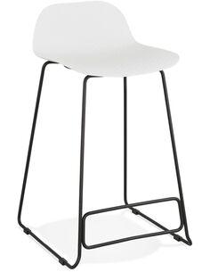 Tabouret de bar design Polymère Blanc SLADE MINI Chaises de bar Kokoon Design