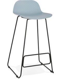 Tabouret de bar design Polymère Bleu SLADE Chaises de bar Kokoon Design